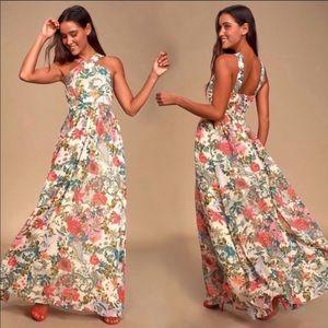 Lulus | lilja floral maxi dress